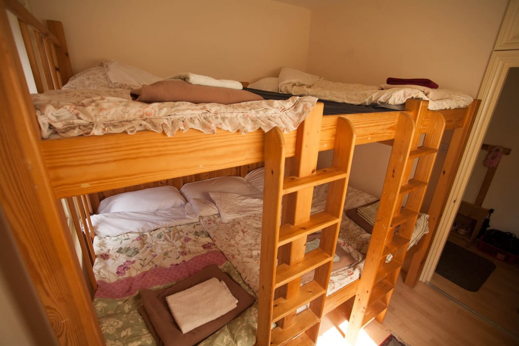 Swanage Auberge bunk beds