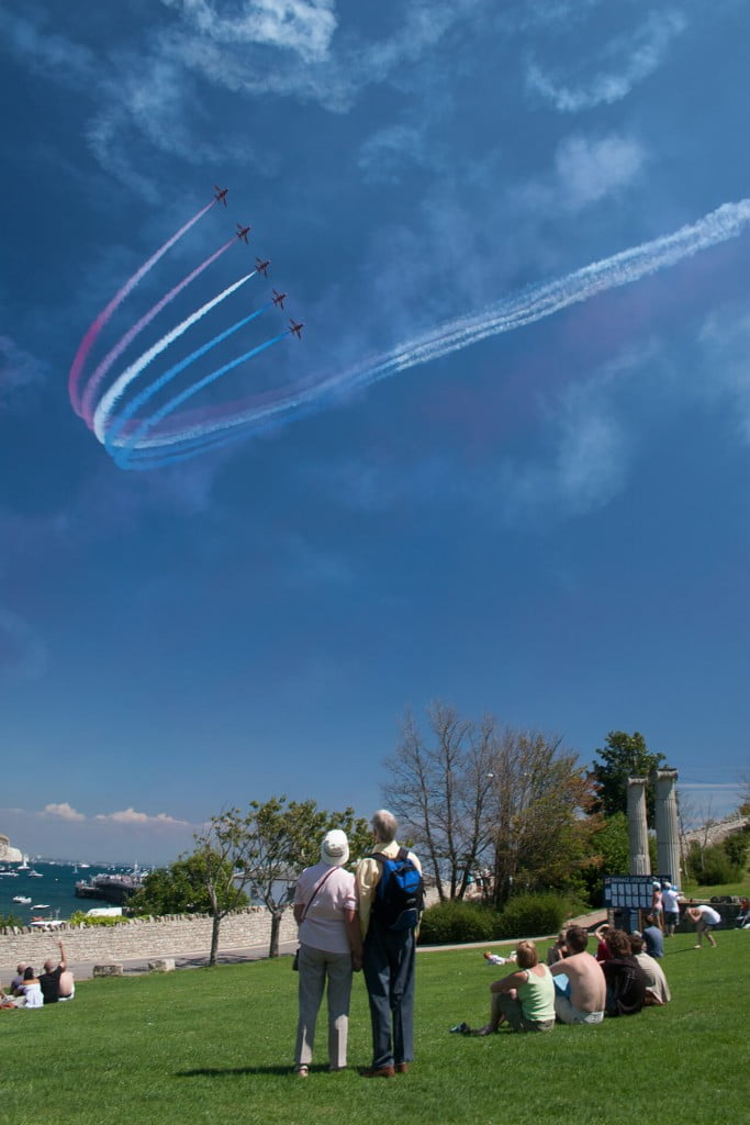 Swanage Carnival Red Arrows